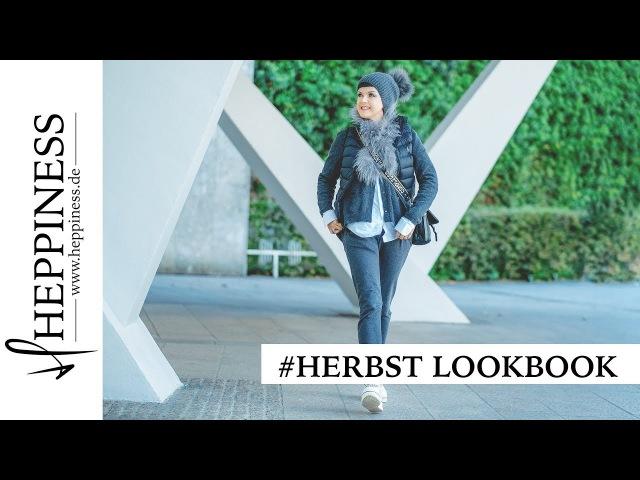 Herbst Lookbook - 3 Outfit Inspirationen für Ü40 by Heppiness