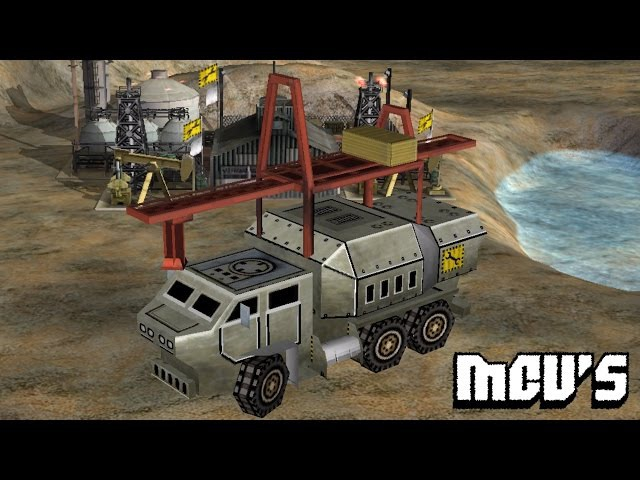 Command Conquer Zero Hour - MCV's | Update [MOD-Gameplay]