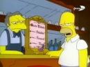 Симпсоны - Тест на алкоголь