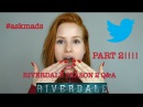 Part 2 of Riverdale Season 2 Q A | Madelaine Petsch