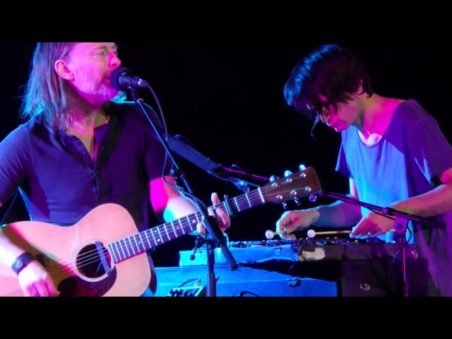 No Surprises - Thom Yorke and Jonny Greenwood, 20-08-2017, Sferisterio Macerata, Italia