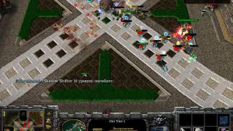 Warcraft III Frozen Throne I Footman Frenzy I футман 3x3x3x3