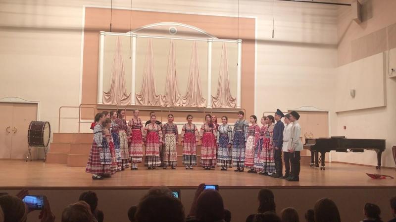 Фольклорный ансамбль ДМШ имени Нейгауза