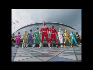 [dragonfox] Chouriki Sentai Ohranger vs Kakuranger (RUSUB)