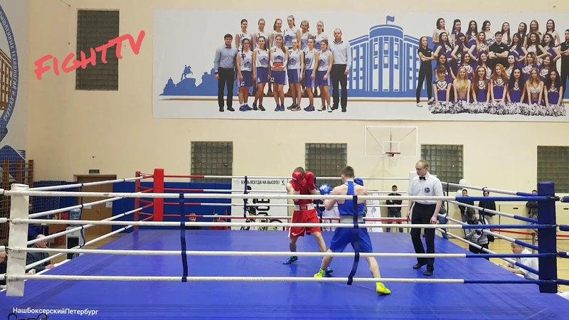 Андрей Павличенко (СПбПУ) vs Никита Злобин (НГУ им. Лесгафта) 69kg