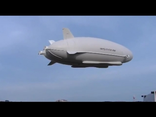 Northrop Grumman - Long Endurance Multi-Intelligence Vehicle (LEMV) Первый полет [480p]