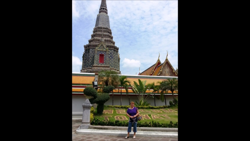Тайланд Бангкок Ват Пхо храм лежащего Будды май 2013г