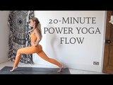 20-MINUTE POWER YOGA FLOW Intermediate Level CAT MEFFAN
