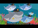 Baby Shark Police | The Shark Family and more | Sing along with baby shark | Songs for Children