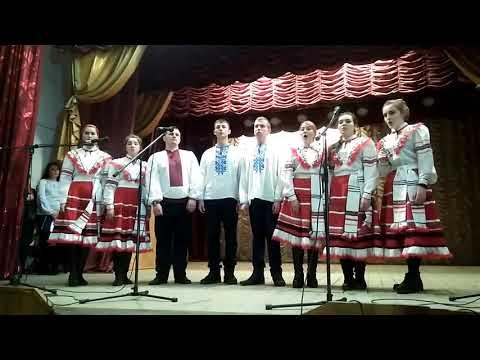 Щедрик у виконанні студентів коледжу культури м. Дубно