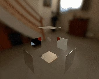 Closing a box made of perfect mirrors with a light bulb inside - Create, Discover and Share GIFs on Gfycat