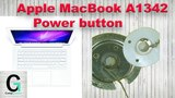 Apple MacBook 13 (2010) A1342 Не работает кнопка включения. Power button switch bypass method.