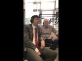 Прямой эфир с Павлом Борщом и Владимиром Можайцевым на радио