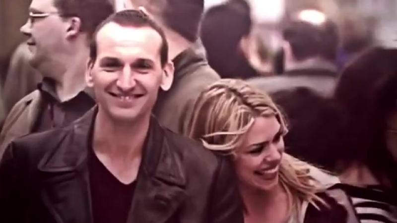 Doctor Who ×Rose Tyler × Christopher Eccleston× Billie Piper × vine