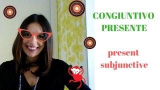 LEARN ITALIAN: CONGIUNTIVO PRESENTE (present subjunctive) CON SOTTOTITOLI!