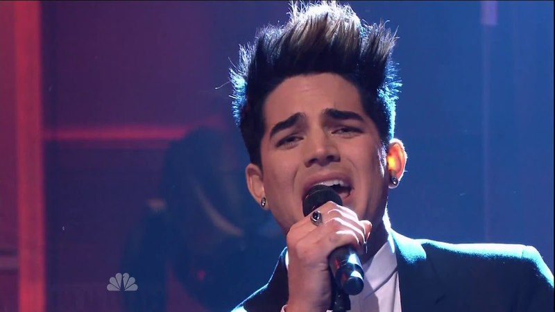 Adam Lambert - Better Than I Know Myself (The Tonight Show With Jay Leno 2012)