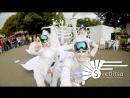 Инсайдерская съемка на GOPro уличный спектакль Белая королева и Лотос