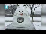 Прикольные, смешные и забавные снеговики