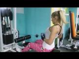Тренировка мышц спины и плечей