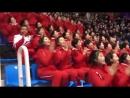 Северные корейцы на олимпиаде.
