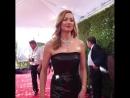 Yvonne Strahovski on the red carpet of the 75th Golden Globe Awards