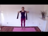 Лучшие упражнения с резинкой (эспандером). Тренировка для начинающих на всё тело (1)