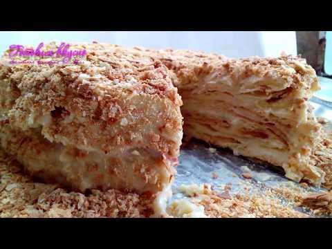 Торт Наполеон классический рецепт от Готовим вкусно