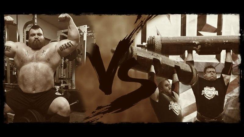 Eddie Hall vs Zydrunas Savickas vs Graham Hicks
