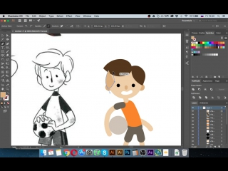 Пример урока c курса по Adobe Illustrator