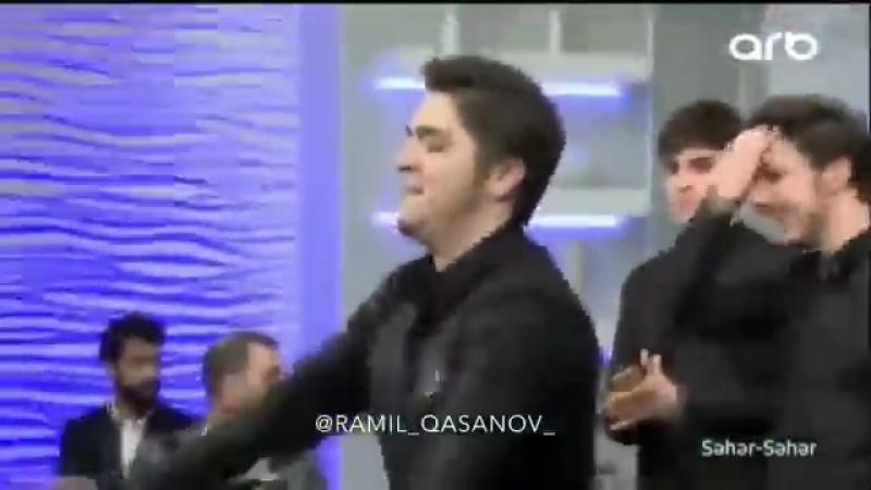 ARB Seher-Seher Verlisinde Ramil Qasanov Ve Telebelerinden Super Lezginka Reqsi