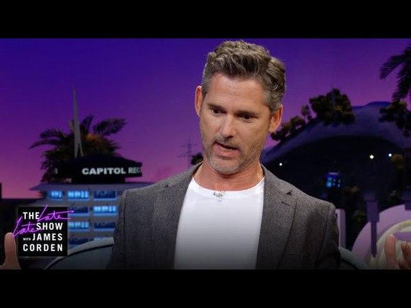 The Late Late Show with James Corden. Eric Bana Almost Fought a Kangaroo (Эрик и очень агрессивные кенгуру)