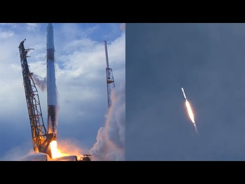 SpaceX CRS-14 Falcon 9 launches CRS-14 Dragon spacecraft