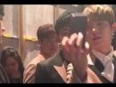 20.03.2018 - TVXQ на модном показе мужского бренда одежды Caruso на the 2018 Hera Seoul Fashion Week (Неделя Высокой Моды в Сеул