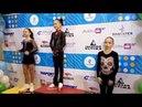 2018 Russian Championships Novice Girls Medal Ceremony