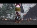 Термос с ручной росписью Мотокросс. Художник Гурова Татьяна ko6
