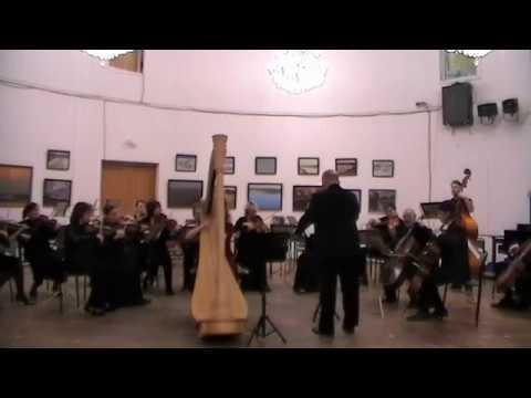 Есения Евдокимова (арфа) и камерный оркестр