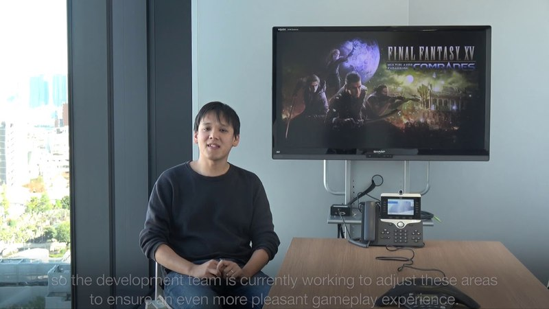 FFXV 1 Year Anniversary - Message from Takahashi-san (Director of COMRADES)