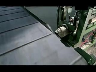 Как делают поленья из древесных опилок