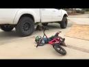 Mini BMX fail kid