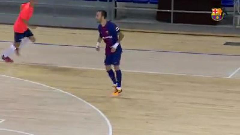 Spain Friendly Match - (Barcelona/Spain) - FC Barcelona/Lassa 6x0 Futsal Aliança Mataró