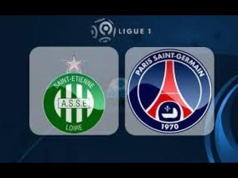 St Etienne vs PSG 1-1 Highlights 06042018