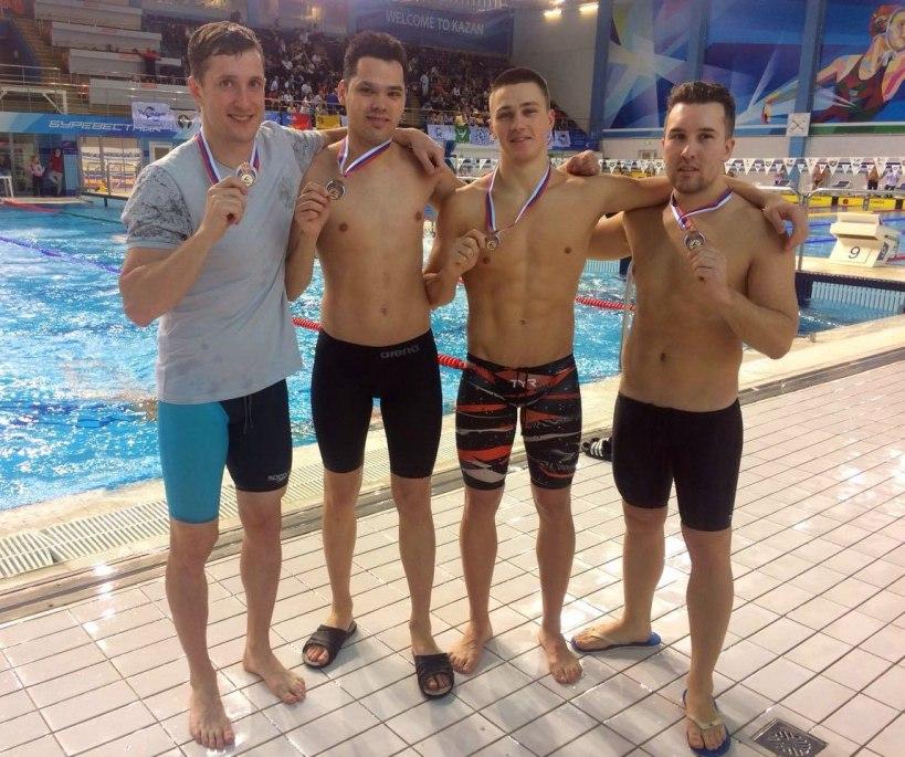 Спортсмены Дубны блестяще выступили на Кубке России по плаванию Masters