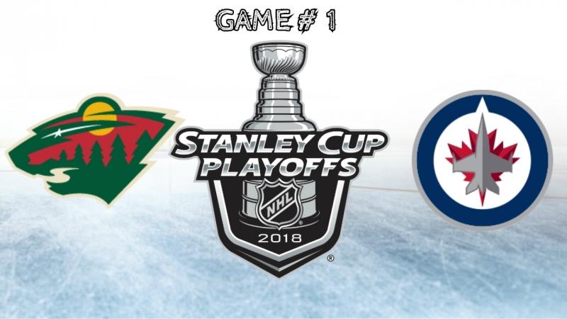Minnesota Wild vs Winnipeg Jets | 11.04.2018 | Round 1 | Game 1 | NHL Stanley Cup Playoffs 2018