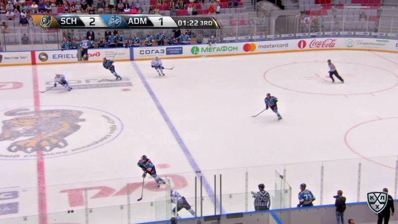 Моменты из матчей КХЛ сезона 17/18 • Гол. 3:1. Шон Коллинз (Сочи) упрочил преимущество хозяев 28.08