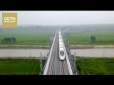 Новый железнодорожный маршрут связал северо-восток Китая с Автономным районом Внутренняя Монголия