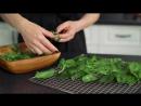 Сырые чипсы из шпината - рецепт для дегидратора (пищевая сушилка) (1)