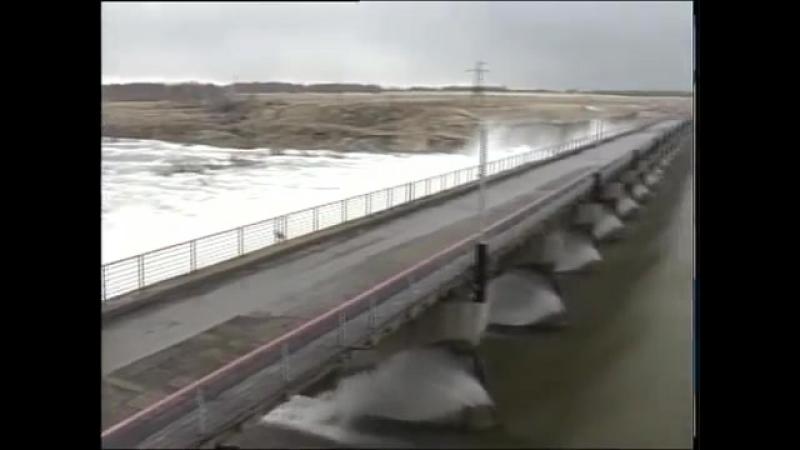 На Сергеевском водохранилище перелив уже обошёл отметку 160 см 19_04_2018