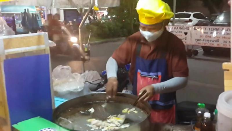 Приготовление Пад Тая в Паттайе смотреть онлайн без регистрации