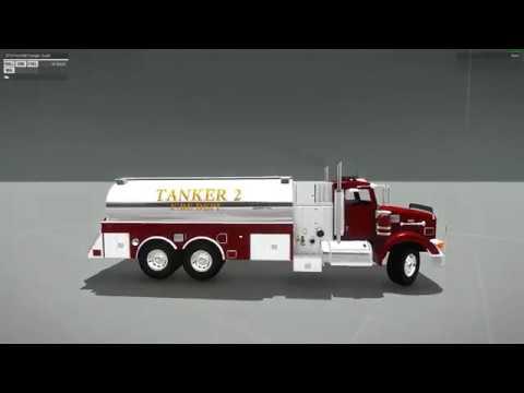 Development Update 18 - Fire Department Peterbilt Tanker and New Siren System