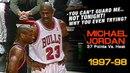 Michael Jordan Intimidates Voshon Lenard Both Verbal And Physical Heat @ Bulls 03 10 1998